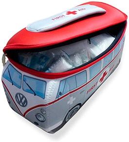 botiquin con forma de ambulancia