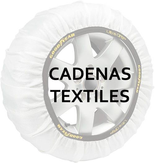 cadenas coche textiles