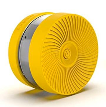 señal v16 amarilla de goma