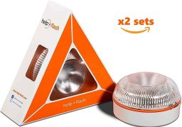help flash baliza luz de emergencia