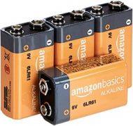 Pilas de 9V para la luz de emergencia Help flash